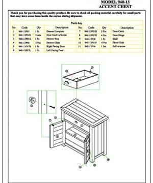 Jofran 940 13 Slater Mill Cabinet 32W X 15D X 32H Medium Brown Pine Finish Set Of 1 0 0 300x360