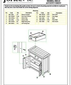 Jofran 940 13 Slater Mill Cabinet 32W X 15D X 32H Medium Brown Pine Finish Set Of 1 0 1 300x360