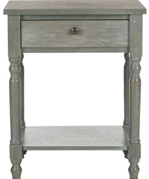 Safavieh American Homes Collection Tami Ash Grey Accent Table 0 0 300x360