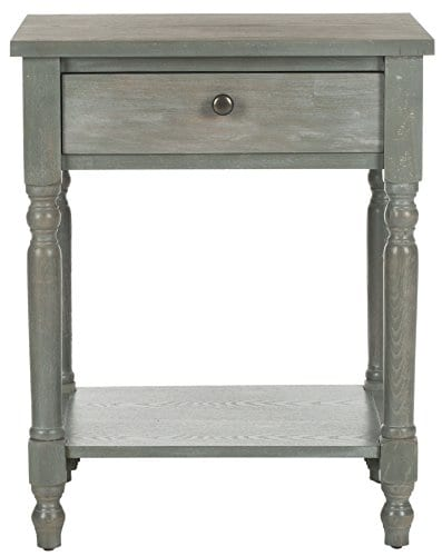 Safavieh American Homes Collection Tami Ash Grey Accent Table 0 0