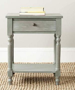 Safavieh American Homes Collection Tami Ash Grey Accent Table 0 300x360