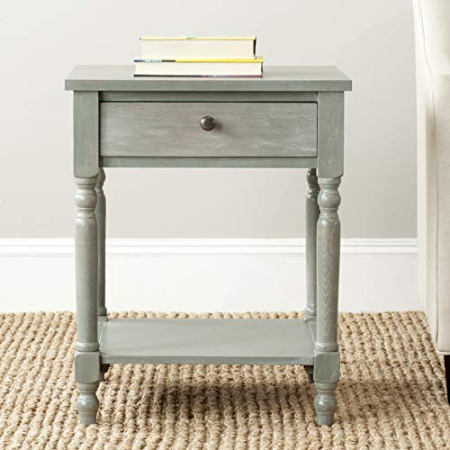 Safavieh American Homes Collection Tami Ash Grey Accent Table 0