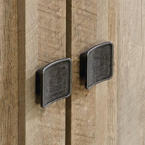 Sauder 416082 Cannery Bridge Storage Cabinet L 3520 X W 1626 X H 7197 Lintel Oak Finish 0 4