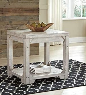 Signature Design By Ashley T755 3 Fregine End Table White Wash 0 300x333