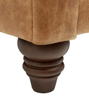 Stone Beam Bradbury Chesterfield Modern Chair 50W Cognac 0 0 300x360