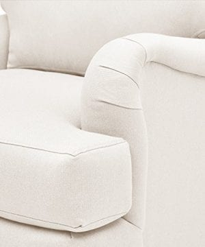 Stone Beam Brandeberry Farmhouse Charles Of London Accent Chair 38W Beige 0 1 300x360
