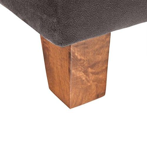Stone Beam Brandeberry Farmhouse Charles Of London Accent Chair 38W Dark Grey 0 3