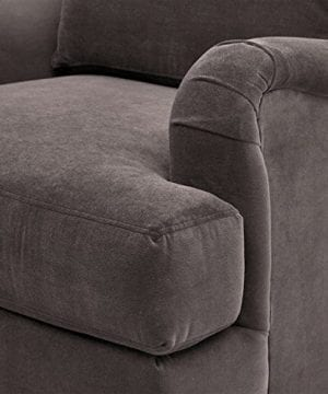 Stone Beam Brandeberry Farmhouse Charles Of London Accent Chair 38W Dark Grey 0 4 300x360