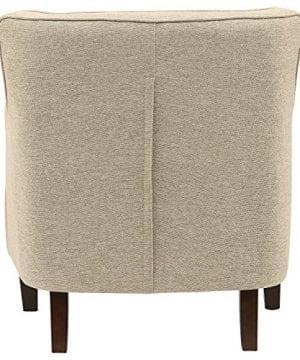 Stone Beam Decatur Modern Tufted Accent Chair 32W Chair Oatmeal 0 0 300x360