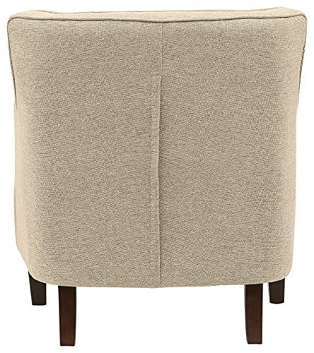 Stone Beam Decatur Modern Tufted Accent Chair 32W Chair Oatmeal 0 0