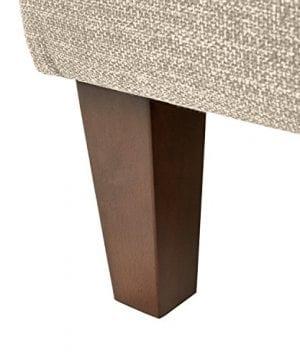 Stone Beam Highland Modern Wingback Accent Chair 32W Oatmeal 0 0 300x360