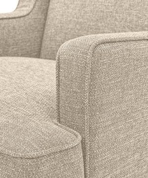 Stone Beam Highland Modern Wingback Accent Chair 32W Oatmeal 0 1 300x360