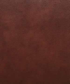 Stone Beam Mid Century Modern Leather Wingback Chair 36W Chestnut 0 3 300x360