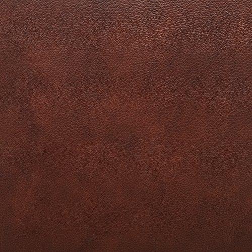 Stone Beam Mid Century Modern Leather Wingback Chair 36W Chestnut 0 3