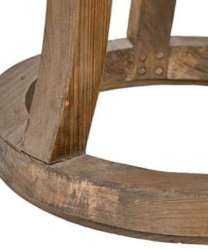 Stone Beam Modern Rustic Reclaimed Elm Side Table 169W Natural 0 0 300x360
