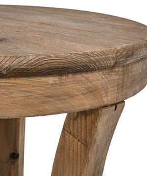 Stone Beam Modern Rustic Reclaimed Elm Side Table 169W Natural 0 1 300x360