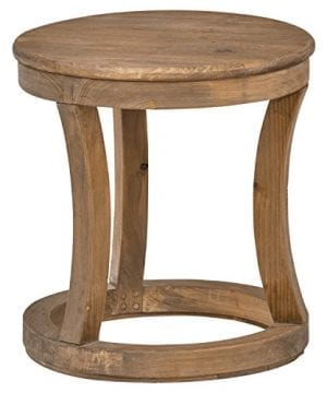 Stone Beam Modern Rustic Reclaimed Elm Side Table 169W Natural 0 300x360