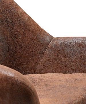 Versanora VNF 00033AF Divano Stylish Beautiful Industrial Modern Vintage Lounge Sofa Aged Fabric 0 2 300x360
