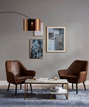 Versanora VNF 00033AF Divano Stylish Beautiful Industrial Modern Vintage Lounge Sofa Aged Fabric 0 5 300x360
