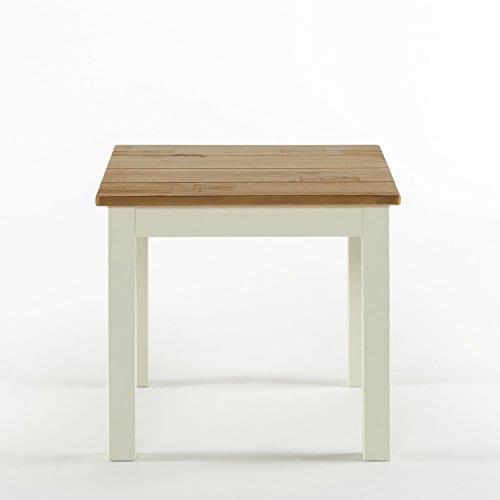 Zinus Becky Farmhouse Wood Side Table 0 0