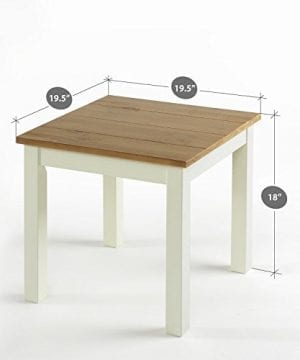 Zinus Becky Farmhouse Wood Side Table 0 1 300x360