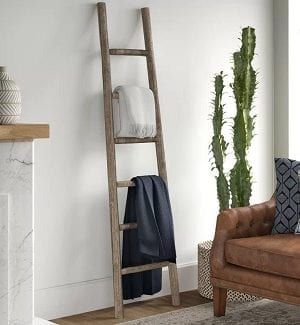 Farmhouse Ladders and Farmhouse Blanket Ladders