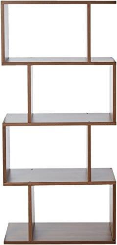 247SHOPATHOME YNJ 140 8 Bookcases Walnut 0 0