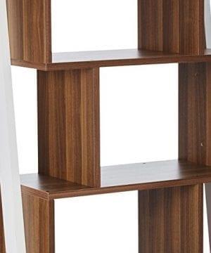 247SHOPATHOME YNJ 140 8 Bookcases Walnut 0 1 300x360