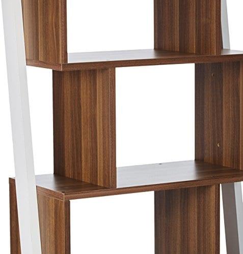 247SHOPATHOME YNJ 140 8 Bookcases Walnut 0 1
