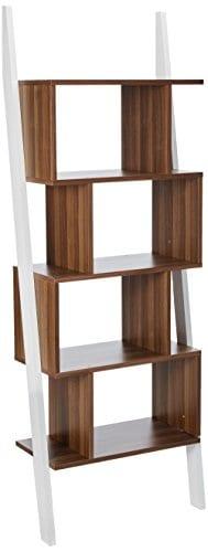 247SHOPATHOME YNJ 140 8 Bookcases Walnut 0