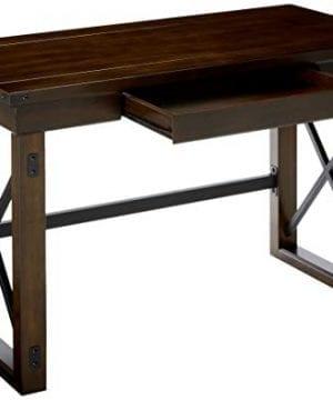 Ameriwood Home Wildwood Wood Veneer Desk Espresso 0 1 300x360