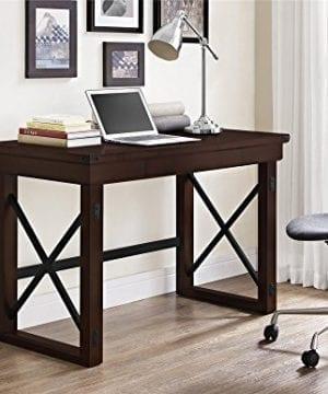 Ameriwood Home Wildwood Wood Veneer Desk Espresso 0 2 300x360