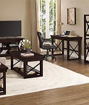 Ameriwood Home Wildwood Wood Veneer Desk Espresso 0 3 300x352