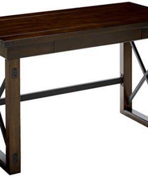 Ameriwood Home Wildwood Wood Veneer Desk Espresso 0 300x360