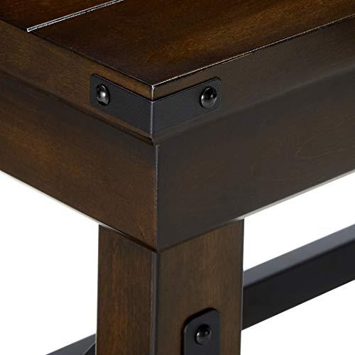 Ameriwood Home Wildwood Wood Veneer Desk Espresso 0 5