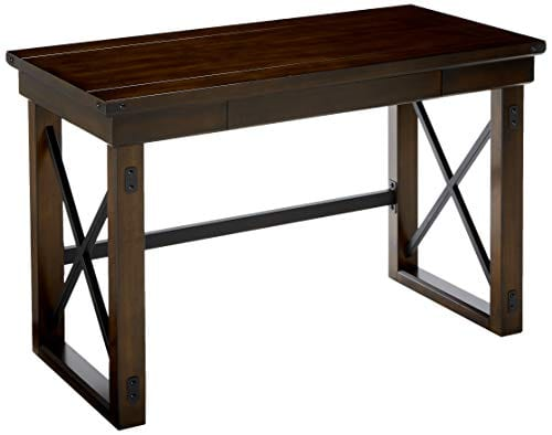 Ameriwood Home Wildwood Wood Veneer Desk Espresso 0