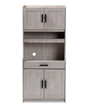 Baxton Studio 152 9175 AMZ Kitchen Storages One Size White 0 1 300x360