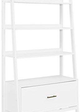 Crosley Furniture Landon Large Etagere Bookcase White 0 263x360