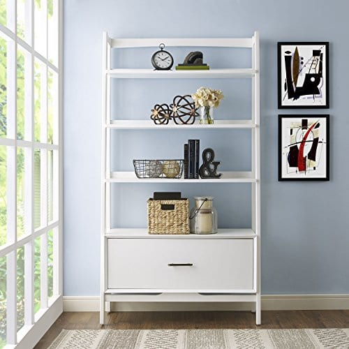 new concept 74409 6aabd Crosley Furniture Landon Large Etagere Bookcase - White