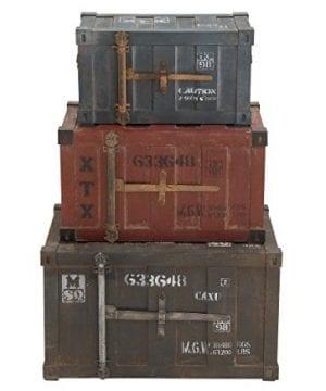 Deco 79 69225 Wood Trunks Set Of 3 272420 Multicolor 0 0 300x360