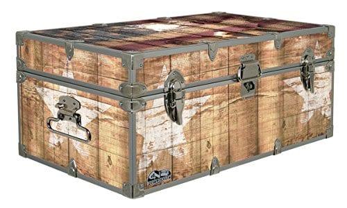 Designer Trunk Fourth Of July Americana Storage Trunk Rustic Americana 32x18x135 Inches 0 0