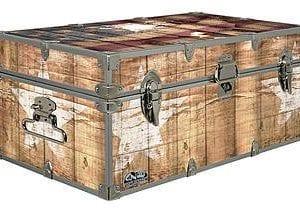 Designer Trunk Fourth Of July Americana Storage Trunk Rustic Americana 32x18x135 Inches 0 1 300x210