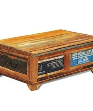 Festnight Vintage Storage Cabinet Box Reclaimed Wood Coffee Table Tea End Table Pure Handmade For Home Office Living Room Furniture 0 0 300x360