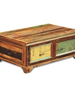 Festnight Vintage Storage Cabinet Box Reclaimed Wood Coffee Table Tea End Table Pure Handmade For Home Office Living Room Furniture 0 1 300x360