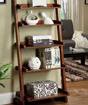Furniture Of America CM AC293 Lugo Ladder Display Shelf 0 300x360