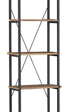 Homelegance 3228 12 Bookcase Shelves BrownBlack 0 219x360