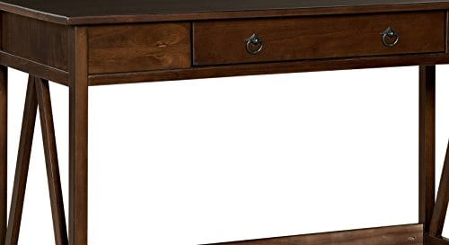 "Linon Home Decor Antique Tobacco Titian Desk, 45.98"" X 20"
