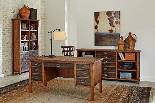 Martin Furniture IMHE4472 Heritage Bookcase 0 2