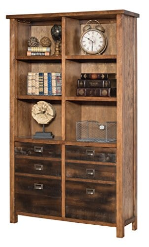 Martin Furniture IMHE4472 Heritage Bookcase 0