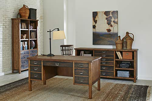 Martin Furniture IMHE660 Heritage Half Pedestal Desk 0 0